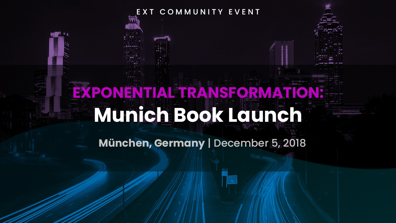 Exponential Transformation: Munich Book Launch