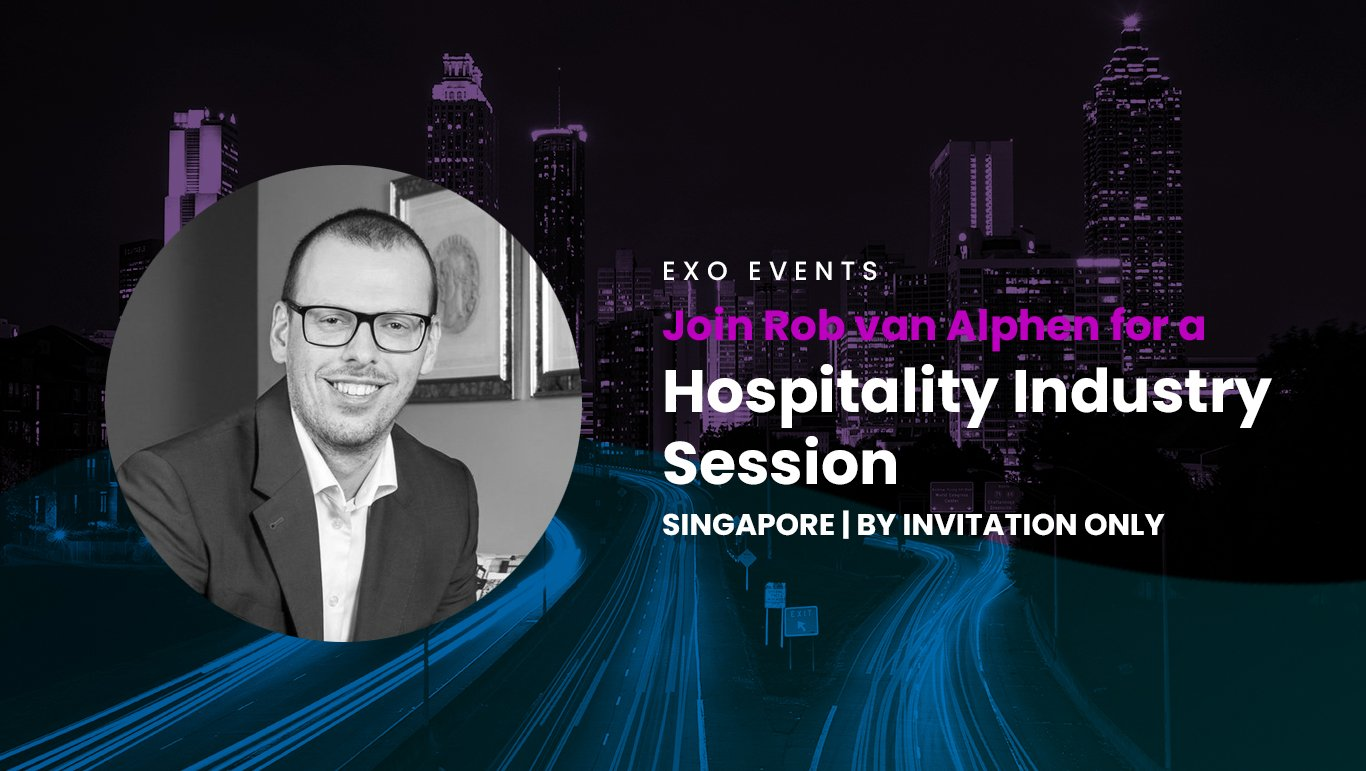 "Join Rob van Alphen for a ""Hospitality Industry Session"""