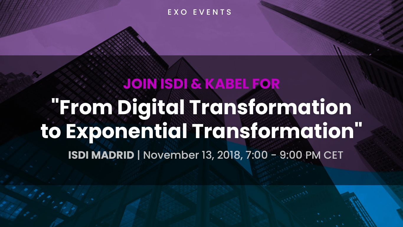 Exponential Organizations Events & Speaking Engagements