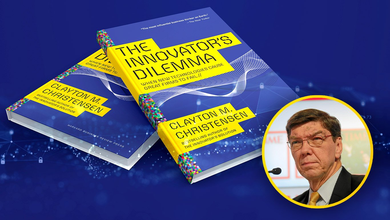Clay Christensen and his book, The Innovator's Dilemma