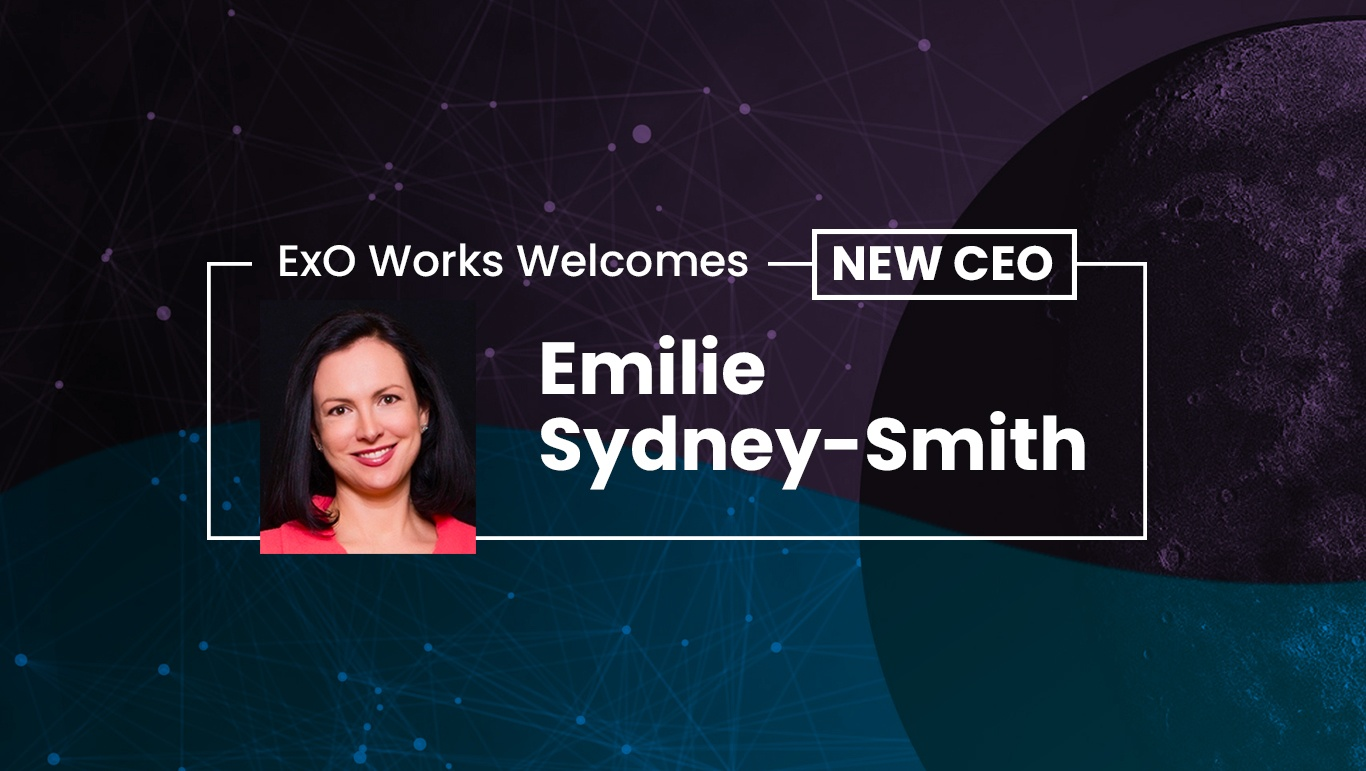 ExO Works Welcomes New CEO, Emilie Sydney-Smith